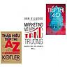 Combo thấu hiểu tiếp thị từ A-Z+marketing mở đường tăng trưởng+tiếp thị 4.0(bản đặc biệt tặng kèm bookmark AHA)