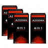 Bộ 3 Bao cao su Azodra 4 in 1 (12 chiếc / hộp) - Tặng 1 sản phẩm cùng loại