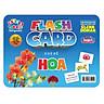 Flash card Theo phương pháp giáo dục sớm của Glenn Doman – Thẻ học thông minh (song ngữ Anh Việt) - Chủ đề: Hoa