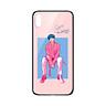 Ốp lưng CƯỜNG LỰC VIỀN ĐEN cho iPhone X KPOP_BTS_V - Hàng chính hãng