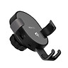 Xiaomi 70mai Midrive PB01 Wireless Car Charger Mount Vehicle Air-vent Qi Wireless 10W QC3.0 Quick Charger Gravity Phone - Black