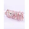 Hộp 12 dây cột tóc Hàn Quốc siêu đẹp siêu bền (Màu Hồng)