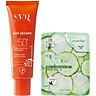 Kem chống nắng dạng lỏng SVR Sun Secure Fluide SPF50+ 50ml + Tặng kèm 1 mặt nạ dưỡng da Dưa leo 3W Clinic