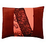 Gối Trang Trí Sofa Chữ Nhật Phối Họa Tiết Sang Trọng 03 ThiVi (36 x 42 x 8 cm) - Đỏ Phối Họa Tiết