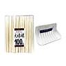 Combo Giá để xà phòng, giẻ rửa bát hút chân không màu trắng + Set 100 đôi đũa ăn một lần - Nội địa Nhật Bản