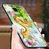 Ốp kính cường lực cho điện thoại Samsung Galaxy A50 - long phượng MS TRANH 049 - Hàng Chính Hãng
