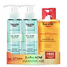 Combo sữa rửa mặt Eucerin Pro Acne Cleansing Gel 200ml tặng dầu tắm Eucerin pH5 Shower Oil | KBM02