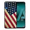 Ốp lưng cho Samsung A50  Cờ Mỹ - Hàng chính hãng