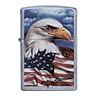 Bật Lửa Zippo 24764 Mazzi Freedom Watch Street Chrome