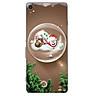 Ốp điện thoại dành cho máy Sony Xperia X - Giáng sinh an lành ấm áp MS GSANAA020