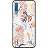Ốp lưng dành cho  Samsung Galaxy A7 (2018) mẫu Trầu bà lá xẻ nhiều màu