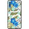 Ốp lưng dành cho  Samsung Galaxy A7 (2018)  mẫu Hoa xanh, lá trầu bà