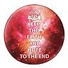 Gối Ôm Tròn Keep The Faith & Hope To The End - GOZTE006