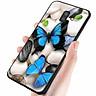 Ốp kính cường lực cho điện thoại Samsung Galaxy J8 - bướm đẹp MS ANH024