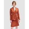 Áo Giả Vest Nữ Nhấn Khoen Cột Nơ Eo Marc Fashion