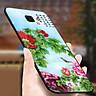 Ốp kính cường lực cho điện thoại Samsung Galaxy J7 PRIME - mẫu đơn MS MAUDON032 - Hàng Chính Hãng
