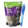 Hạt Chia Absolute Organic Dinh Dưỡng Cho Người Lớn (Túi 1kg) - Tặng kèm bút phân biệt thật giả