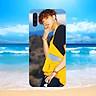 Ốp điện thoại dành cho máy Samsung Galaxy A50 - mtp MS MTP013-Hàng Chính Hãng