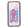 Ốp lưng CƯỜNG LỰC VIỀN ĐEN cho iPhone 7 KPOP_BTS_V - Hàng chính hãng