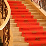Extreme space (JDKJ) wedding wedding red carpet disposable red carpet wedding ceremony exhibition opening wedding welcome stage carpet red 10 meters a roll
