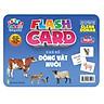 Flash card Theo phương pháp giáo dục sớm của Glenn Doman – Thẻ học thông minh (song ngữ Anh Việt) - Chủ đề: Động vật nuôi