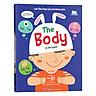 Sách Tương Tác - Lift-The-Flap-Lật mở khám phá - The human body - Cơ thể người  (Dành Cho Trẻ Em Từ 5-12 Tuổi)