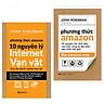 Combo Tìm Hiểu Mô Hình Thành Công Của Amazon ( Phương Thức Amazon + Phương Thức Amazon:10 Nguyên Lý Internet Vạn Vật ) ( Quà Tặng: Cây Viết Kute' )