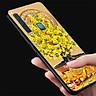 Ốp kính cường lực cho điện thoại Samsung Galaxy A30 - Tranh Mai Đào MS MDAO017 - Hàng Chính Hãng