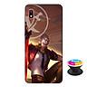 Ốp lưng nhựa dẻo dành cho Samsung A10 in hình Murad M-TP Thần Tượng Học Đường - Tặng Popsocket in logo iCase - Hàng Chính Hãng