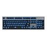 Motospeed GK89 2.4GHz Wireless / USB Wired Mechanical Keyboard with RGB Backlit 104Keys Wireless Gaming Keyboard For