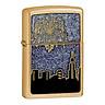 Bật Lửa Zippo 24062 City Celebration Emblem Gold Dust