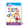 Combo 10 Hộp Flash card - Lô tô cho trẻ mầm non - Chủ đề: Thẻ chữ số và chữ cái (cho trẻ)