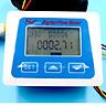 Digital Flow Meter LCD display Digital Temperature Tester Meter Measuring Flow Senosr Total Liter Gal From ZJ-LCD-M model