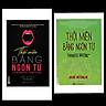 Bộ sách 2 quyển Thôi miên bằng ngôn từ bìa đen và bìa xanh( tặng kèm bút bi )