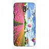 Ốp kính cường lực cho điện thoại Samsung Galaxy J5 Pro - Vườn Hoa MS VHOA007 - Hàng Chính Hãng