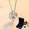 Vanessa 925 Silver Pendant Clavicle Necklace Christmas Gifts Send Girlfriends Wifes Holiday Gift Boxes Gifts