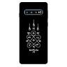 Ốp lưng nhựa cứng nhám dành cho Samsung Galaxy S10 in hình Hình Săm