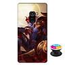 Ốp lưng nhựa dẻo dành cho Xiaomi Mi Mix 2 in hình Yorn Thế Tử Nguyệt Tộc - Tặng Popsocket in logo iCase - Hàng Chính Hãng