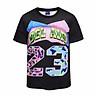 Men 3D T Shirt Short Sleeves O-Neck 23 Number 3d Color Printed T-Shirt Tee Shirts T-Shirts Clothes BL-407
