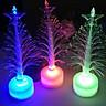 Colorful LED Fiber Optic Nightlight Decoration Light Lamp Mini Christmas Tree