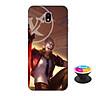 Ốp lưng nhựa dẻo dành cho Samsung J7 Pro in hình Murad M-TP Thần Tượng Học Đường - Tặng Popsocket in logo iCase - Hàng Chính Hãng