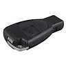 3 Buttons Smart Remote Completed Key Case Fob Control for Mercedes Benz S E C