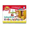 Combo 10 Hộp Flash Card song ngữ Anh Việt – Lô tô cho trẻ mầm non - chủ đề: Hướng dẫn trẻ kĩ năng tự phục vụ
