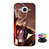 Ốp lưng nhựa dẻo dành cho Samsung J2 2016 in hình Murad M-TP Thần Tượng Học Đường - Tặng Popsocket in logo iCase - Hàng Chính Hãng