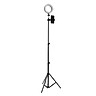 L-E-D Loop Light Photo Video Dimmable Lamp Tripod Selfie Camera Phone Stand