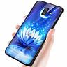 Ốp kính cường lực cho điện thoại Samsung Galaxy J8 - bướm đẹp MS ANH045