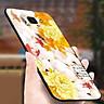 Ốp điện thoại kính cường lực cho máy Samsung Galaxy A70 - mẫu đơn MS HOA010 - Hàng Chính Hãng