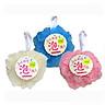 Bộ 3 bông tắm mềm mịn, bảo vệ làn da nhạy cảm (giao màu ngẫu nhiên) - Hàng Nội Địa Nhật
