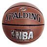 Bóng rổ số 7 Spalding NBA chữ bạc da PU cao cấp (Tiêu chuẩn thi đấu-B)