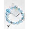 Vòng tay aquamarine charm hồ ly 9 đuôi Ngọc Quý Gemstones